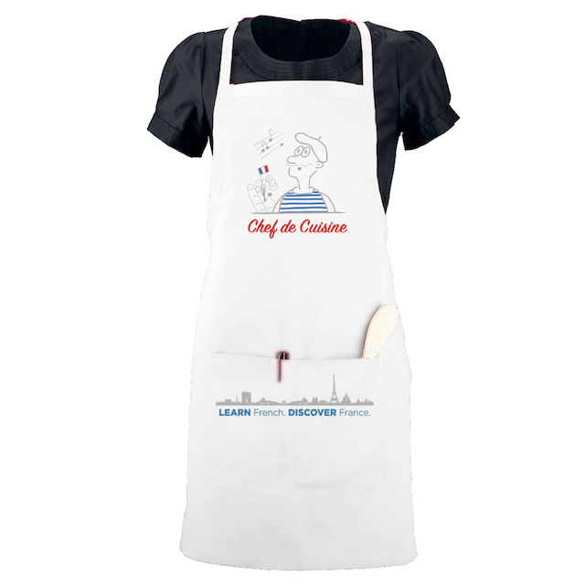 French Cooking Aprons Chef de Cuisine