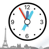 Learn French. Time. A French learning App on the apple app store.